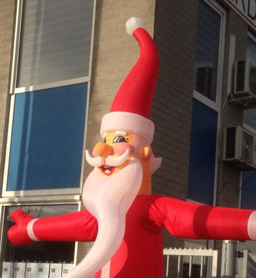 Kerstpop Opblaasbaar