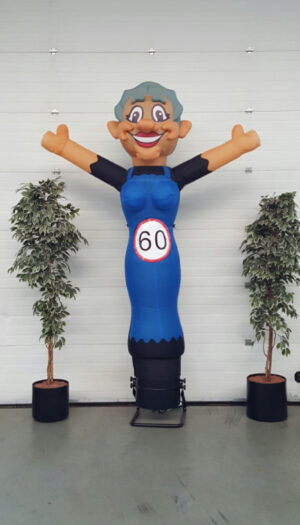 party pop partypop opblaasfiguur opblaasfiguren Amersfoort Verjaardag Verjaardagen Feest Viering Feestballon 60jaar 60 jaar