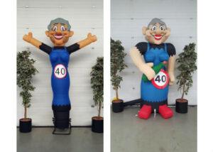 party pop partypop opblaasfiguur opblaasfiguren Amersfoort Verjaardag Verjaardagen Feest Viering Feestballon 40jaar 40 jaar